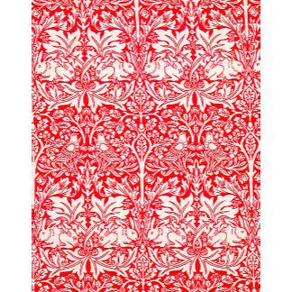 William Morris Brother Rabbit in Red