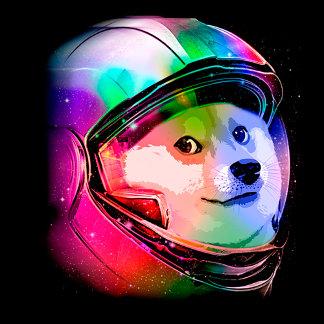Doge astronaut-colorful dog - doge-shibe-doge dog