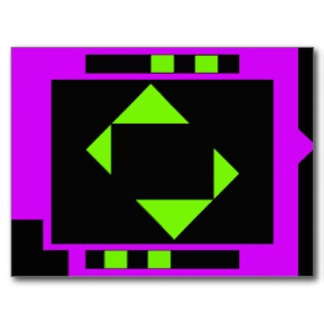 Shapes in Hgh Contrast Cards and Stickers