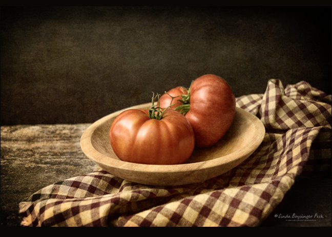 Two Tomatoes Still Life