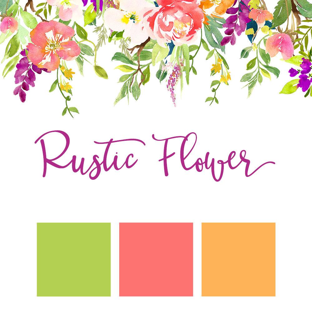 Rustic Flower Wedding