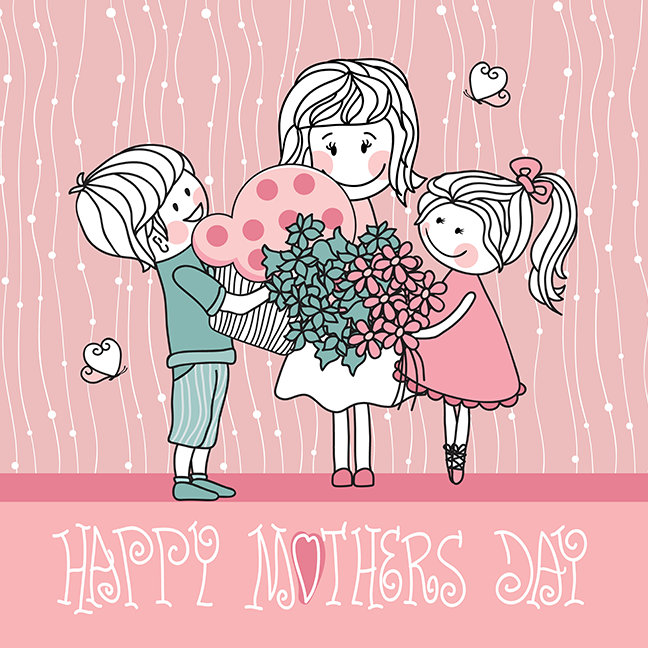 Happy Mother's Day and Children