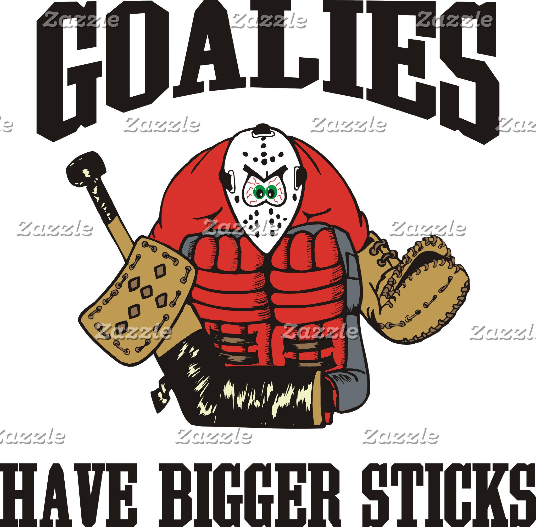 Funny Hockey Goalie T-Shirt Gifts