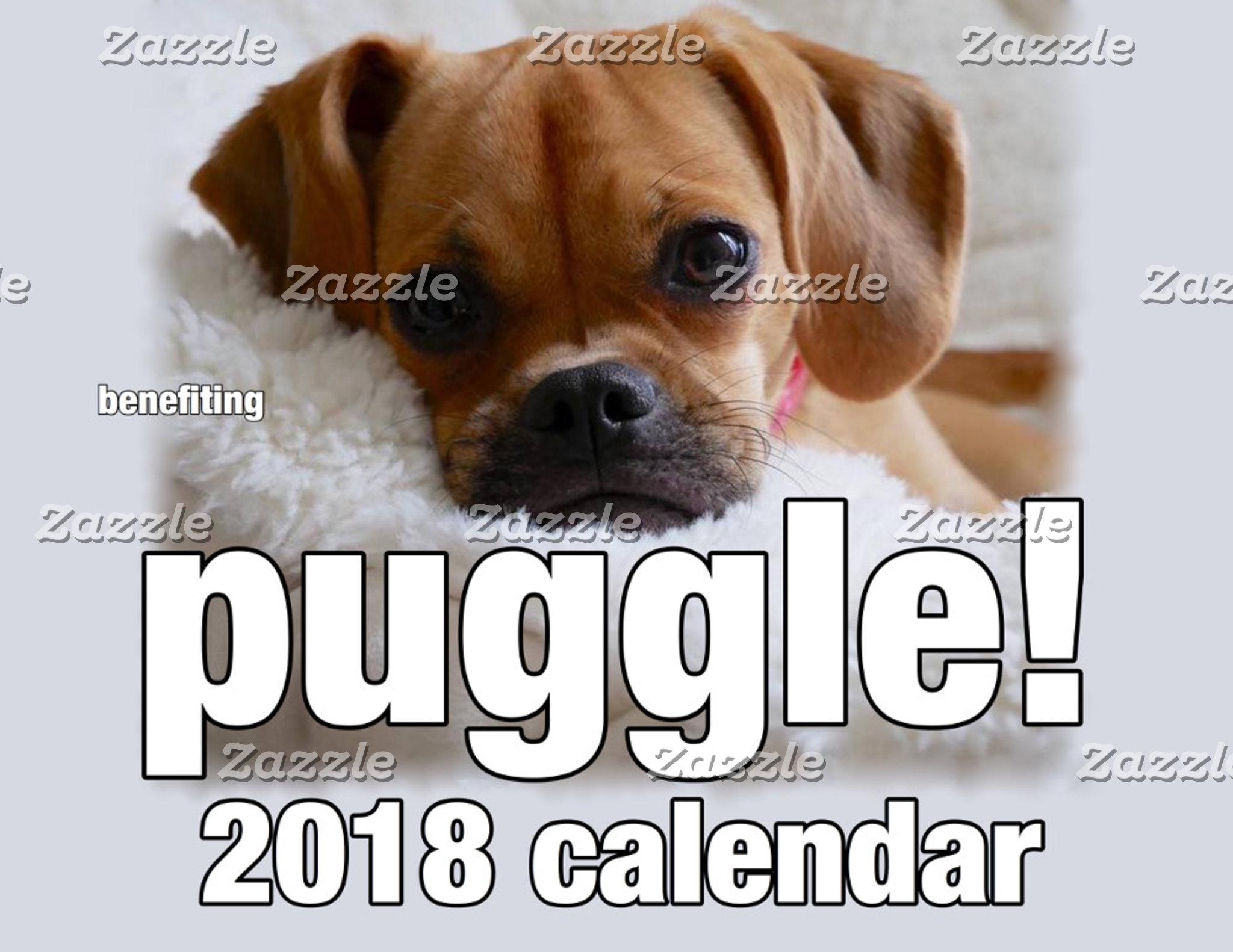 Puggle 2018 Calendar!
