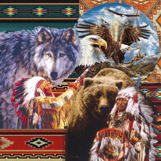 Tribal, Aztec-Cultural-Boho