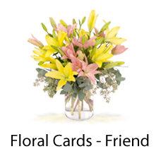 Floral Cards Friend