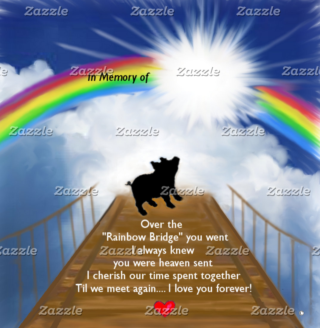 Rainbow Bridge Memorial for Pigs