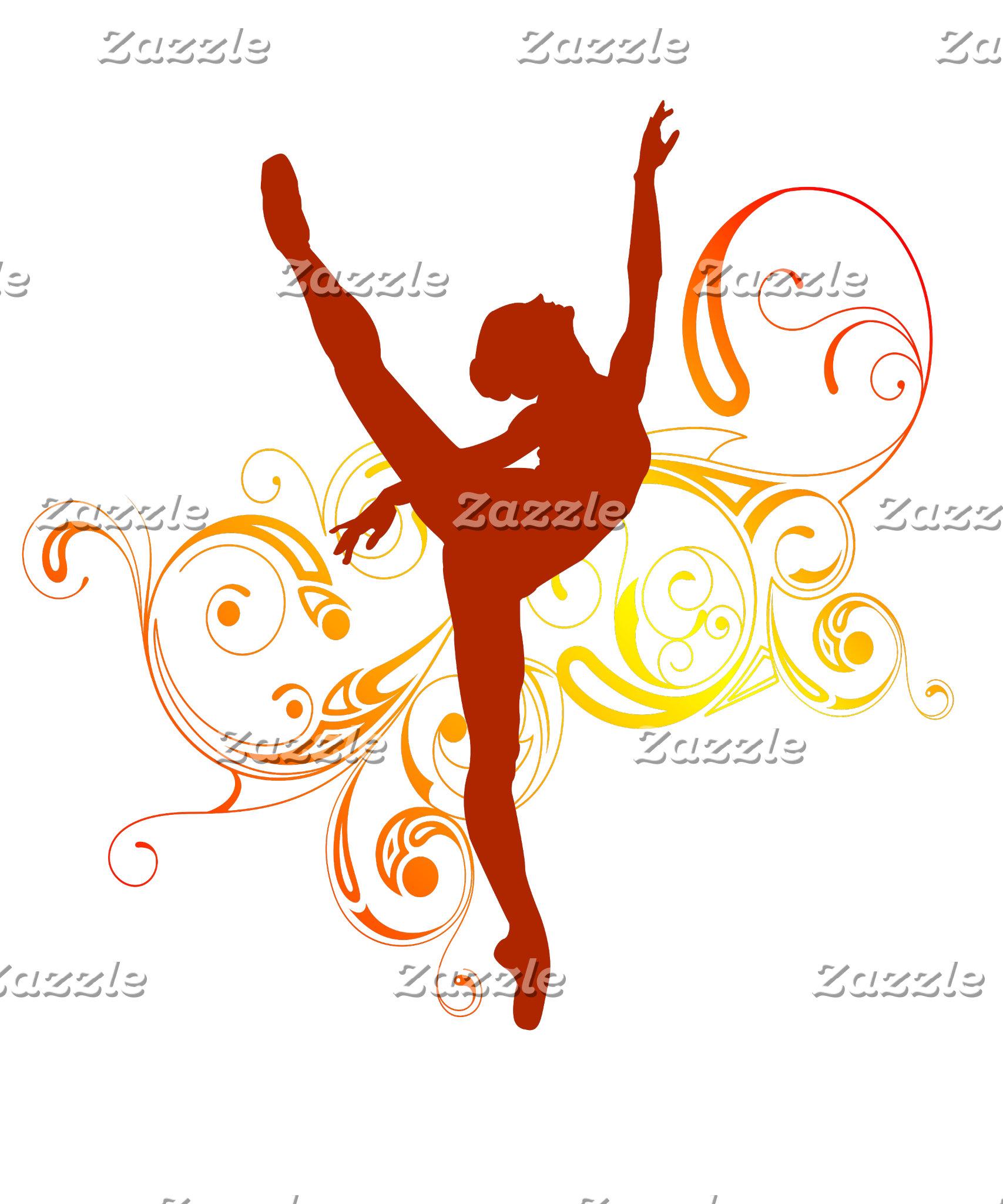 Ballerina Elegant Swirls