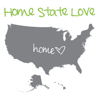 United States Home State Love