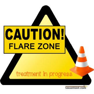 Caution: Flare Zone