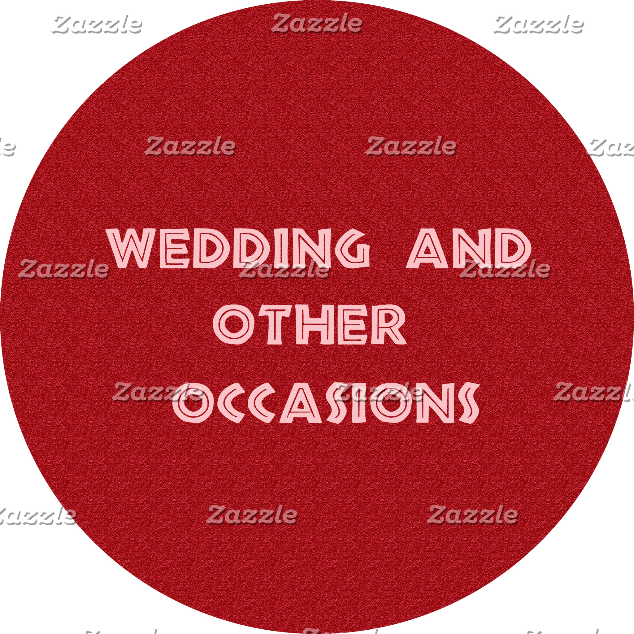 Wedding and other occasions