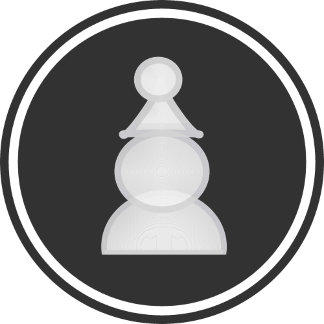 White Pawn Chess Piece