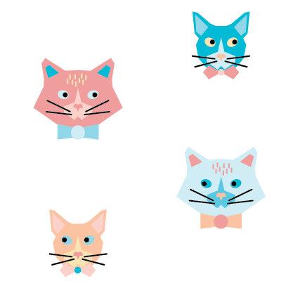 Geometric Cats