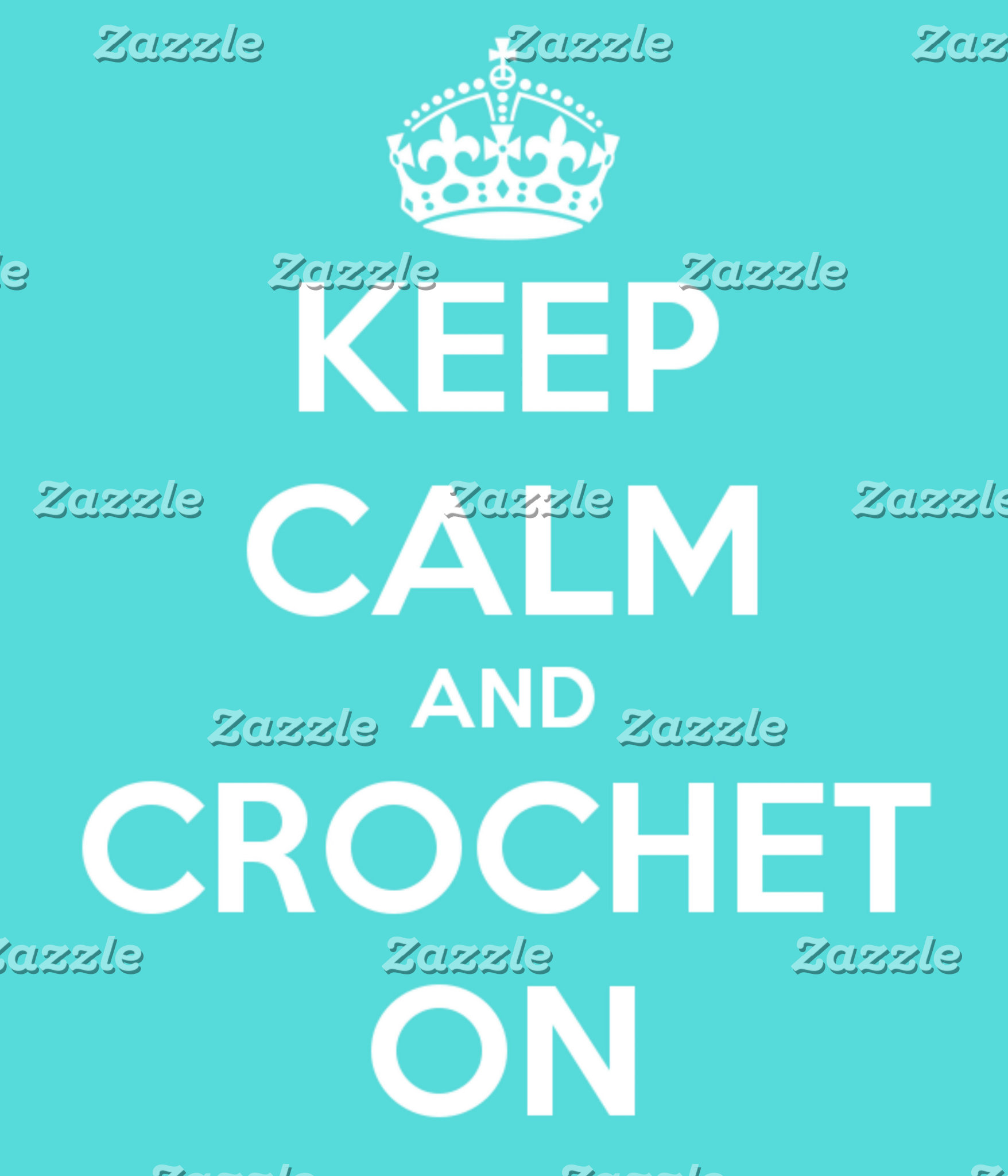 Keep Calm and Crochet On