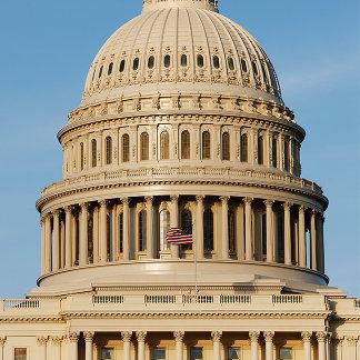 Capitol Building shot at dusk