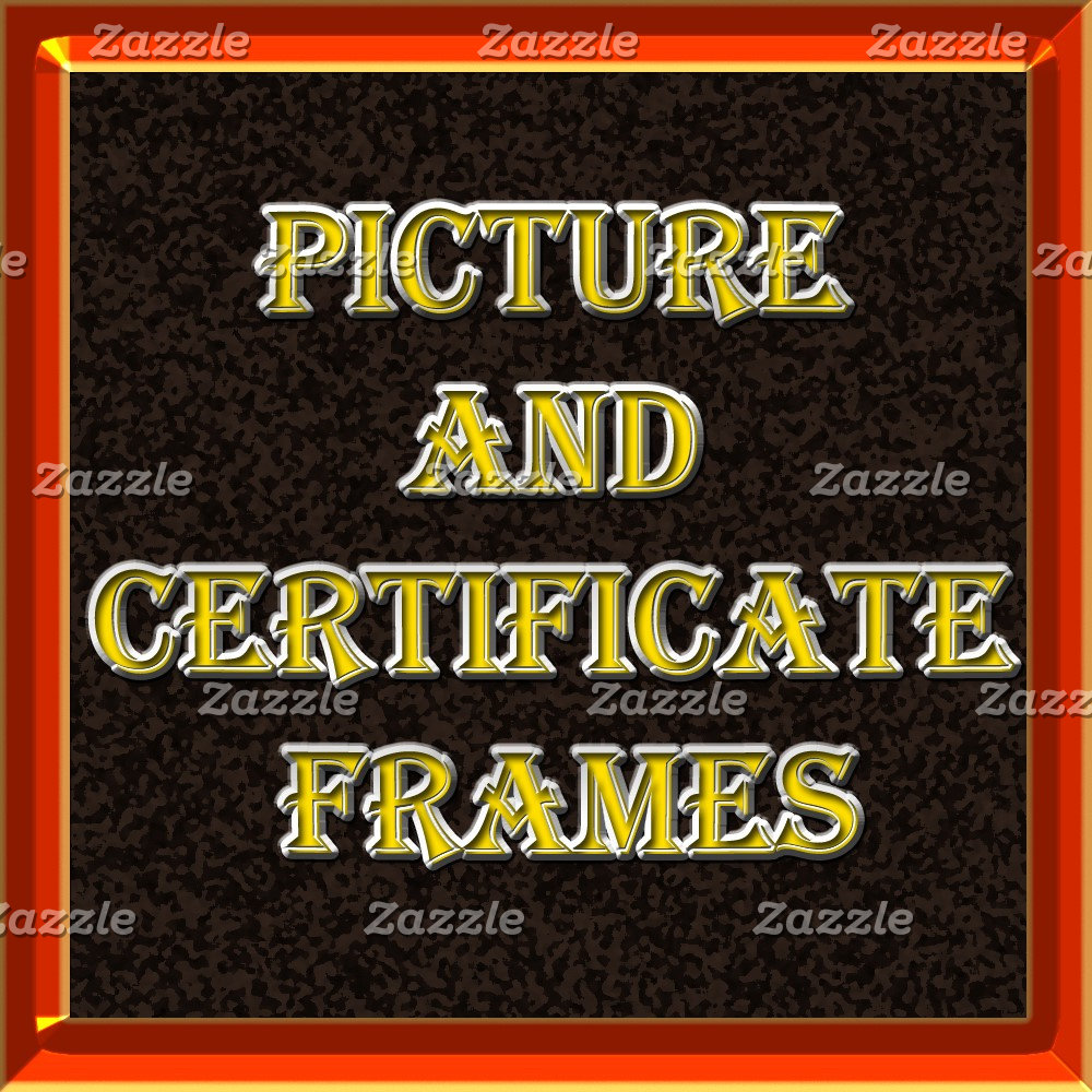 Picture and Certificate Frames