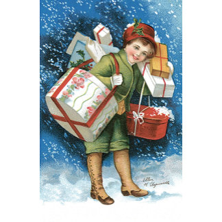 Girl with Presents