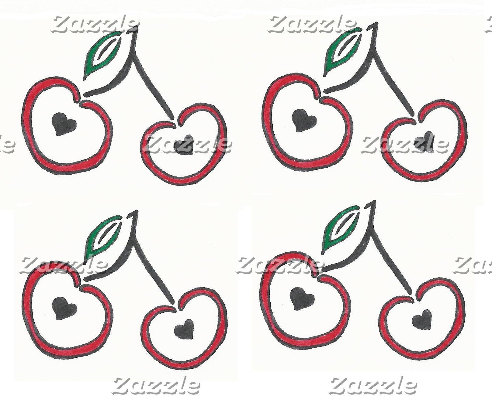Heart Pitted Cherries