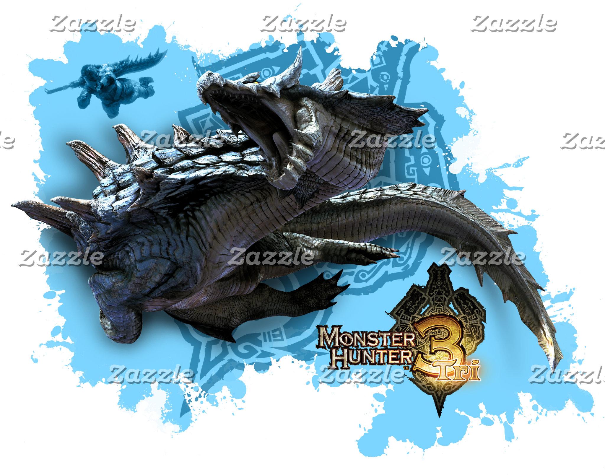 Lagiacrus chasing Hunter