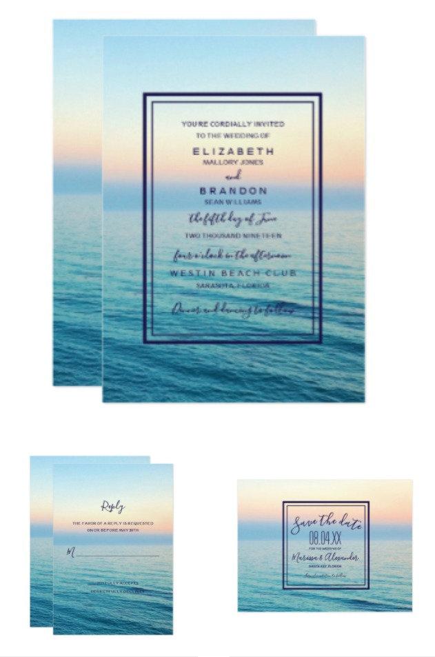 Sunset Skies Beach