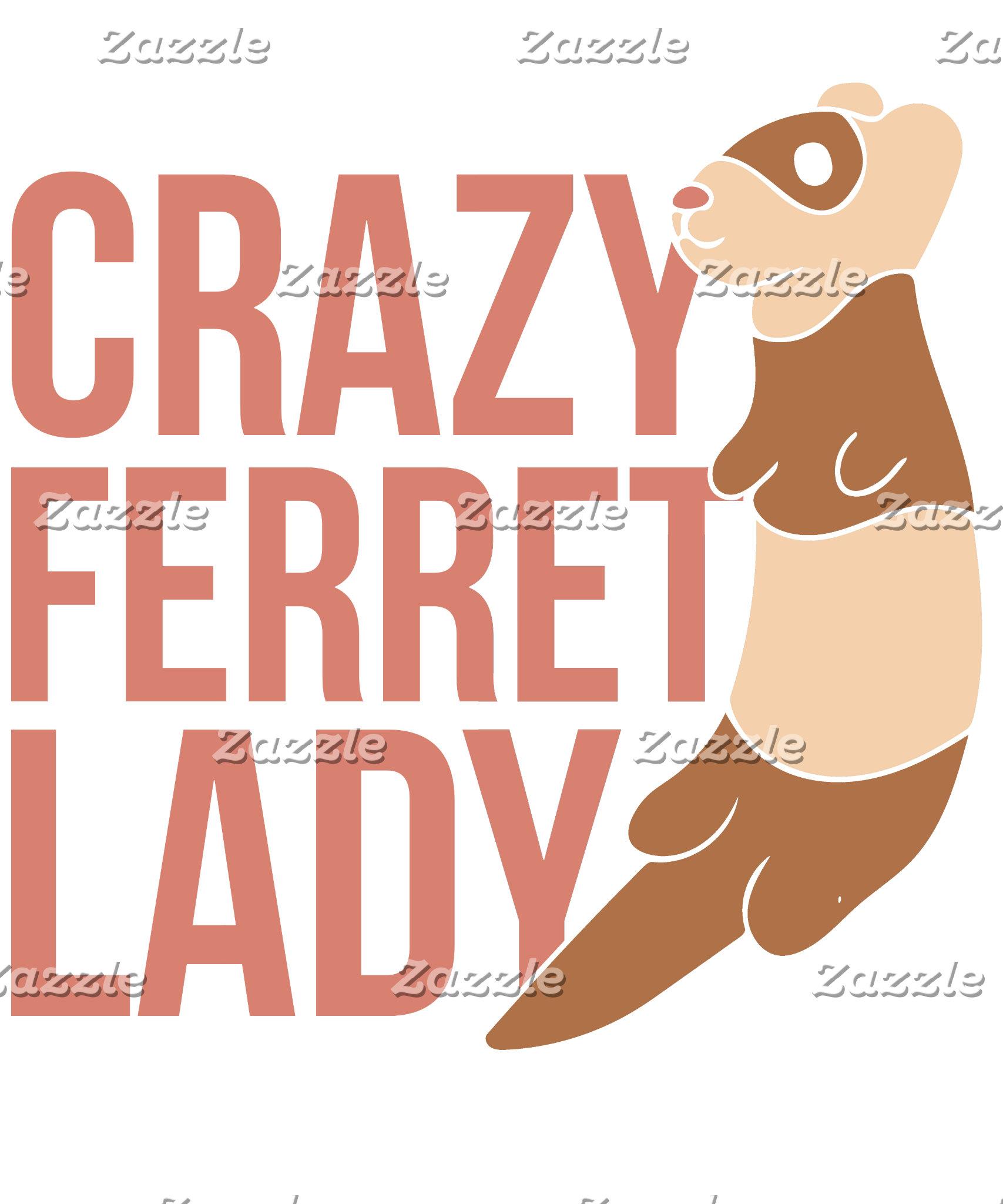 crazy ferret lady