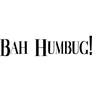 BAH HUMBUG T Shirt Sweatshirt Gift Cards
