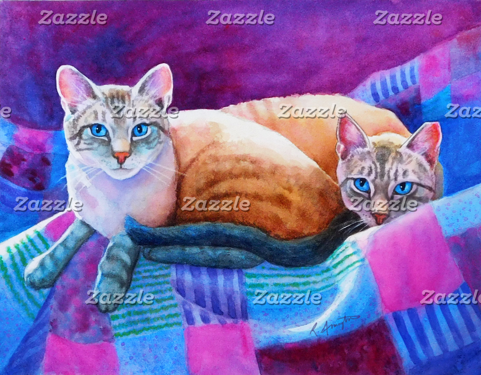 Lynx Point Siamese Cats