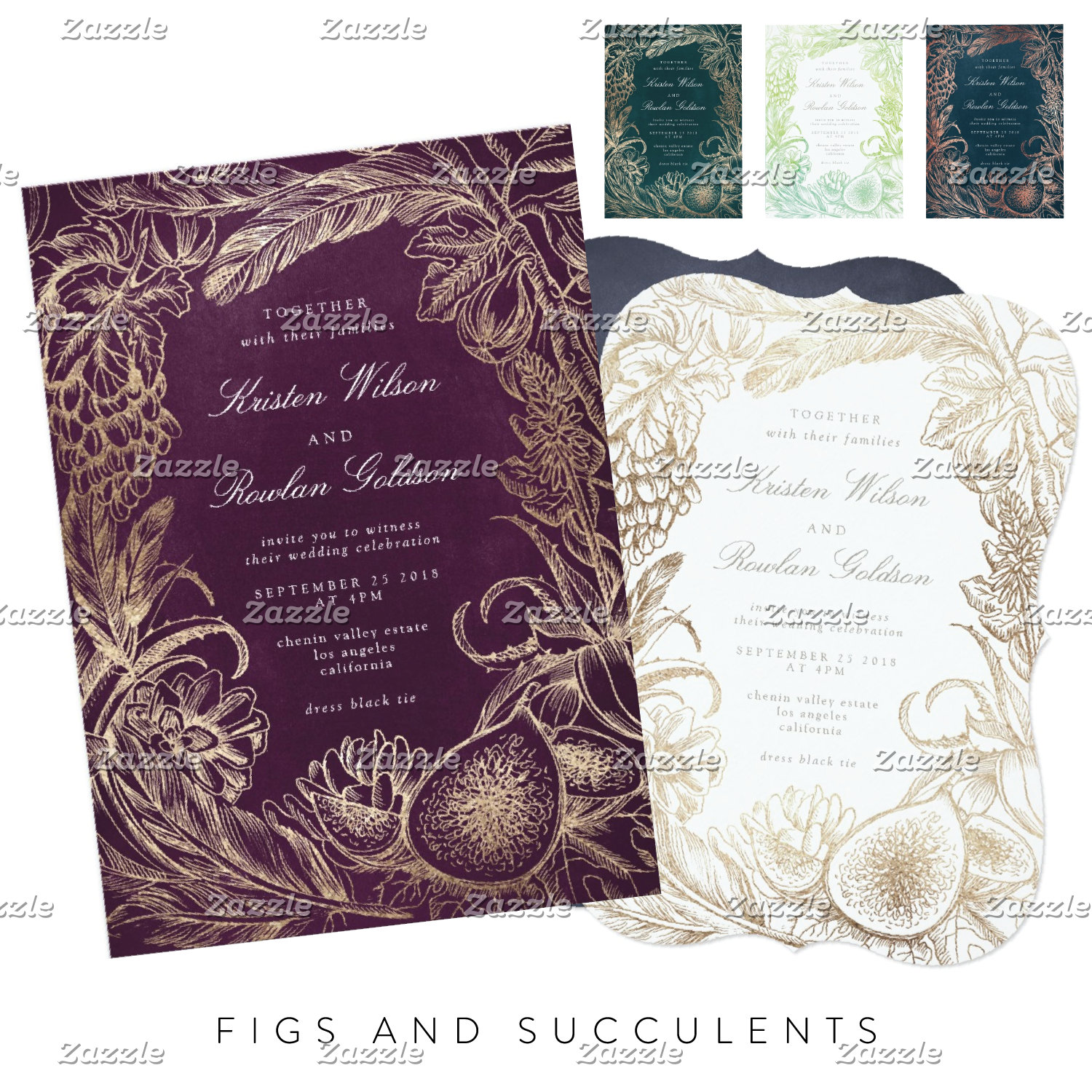 Figs and Succulents