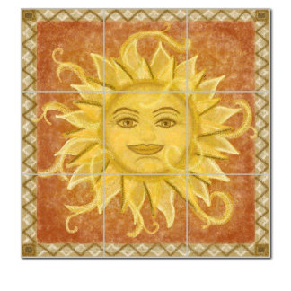 Sunface Mural