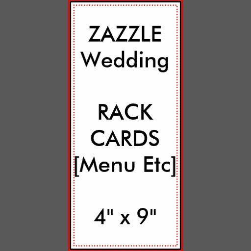 Menus & Program Rack Cards