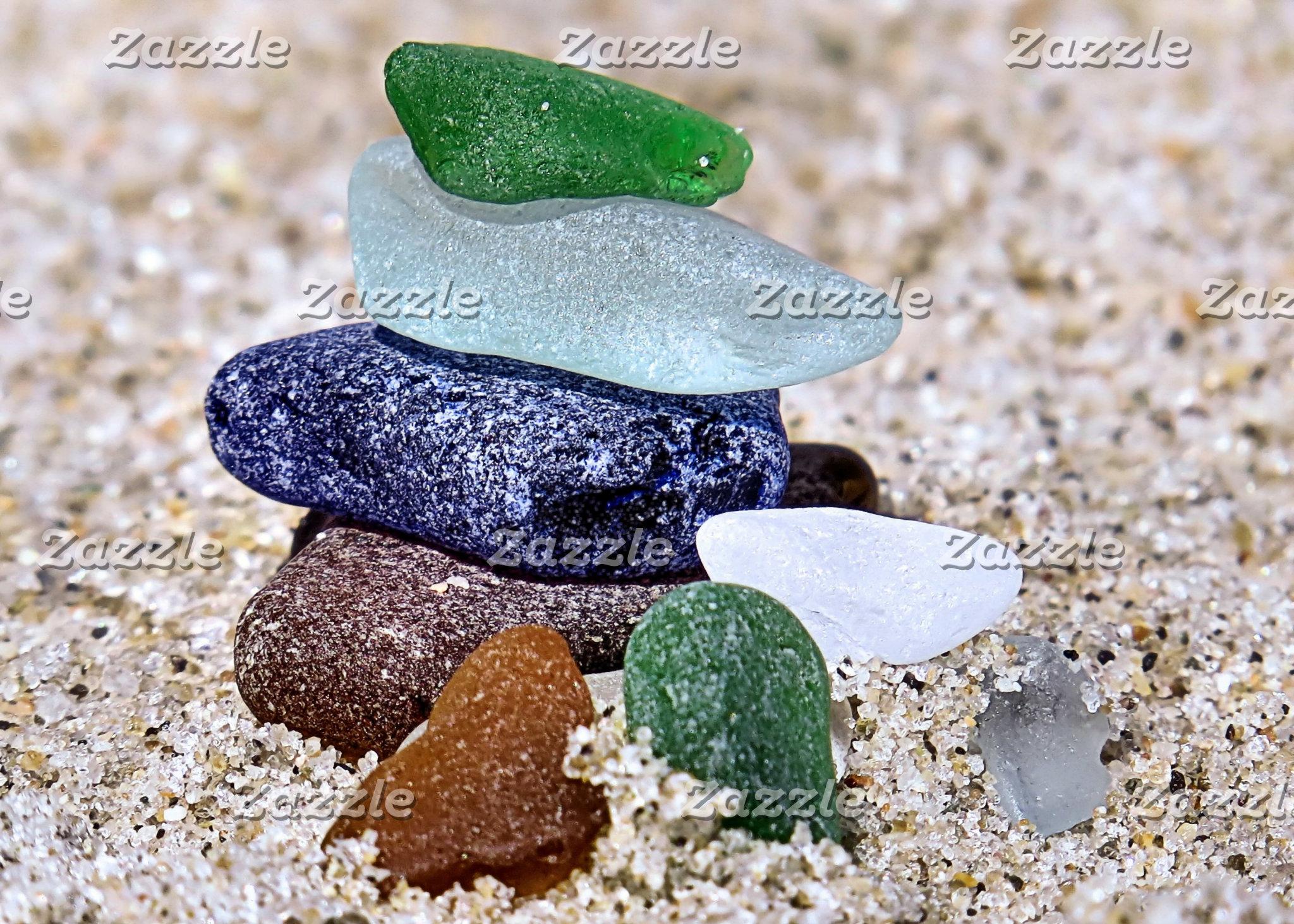 Sea Glass and Seashells