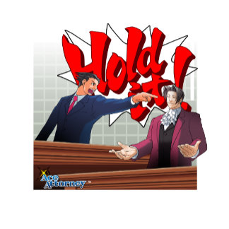Hold It! Phoenix Wright & Miles Edgeworth