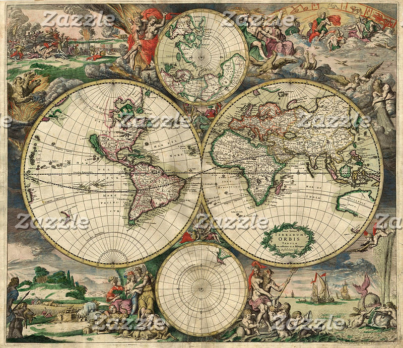 Historical & Vintage Maps