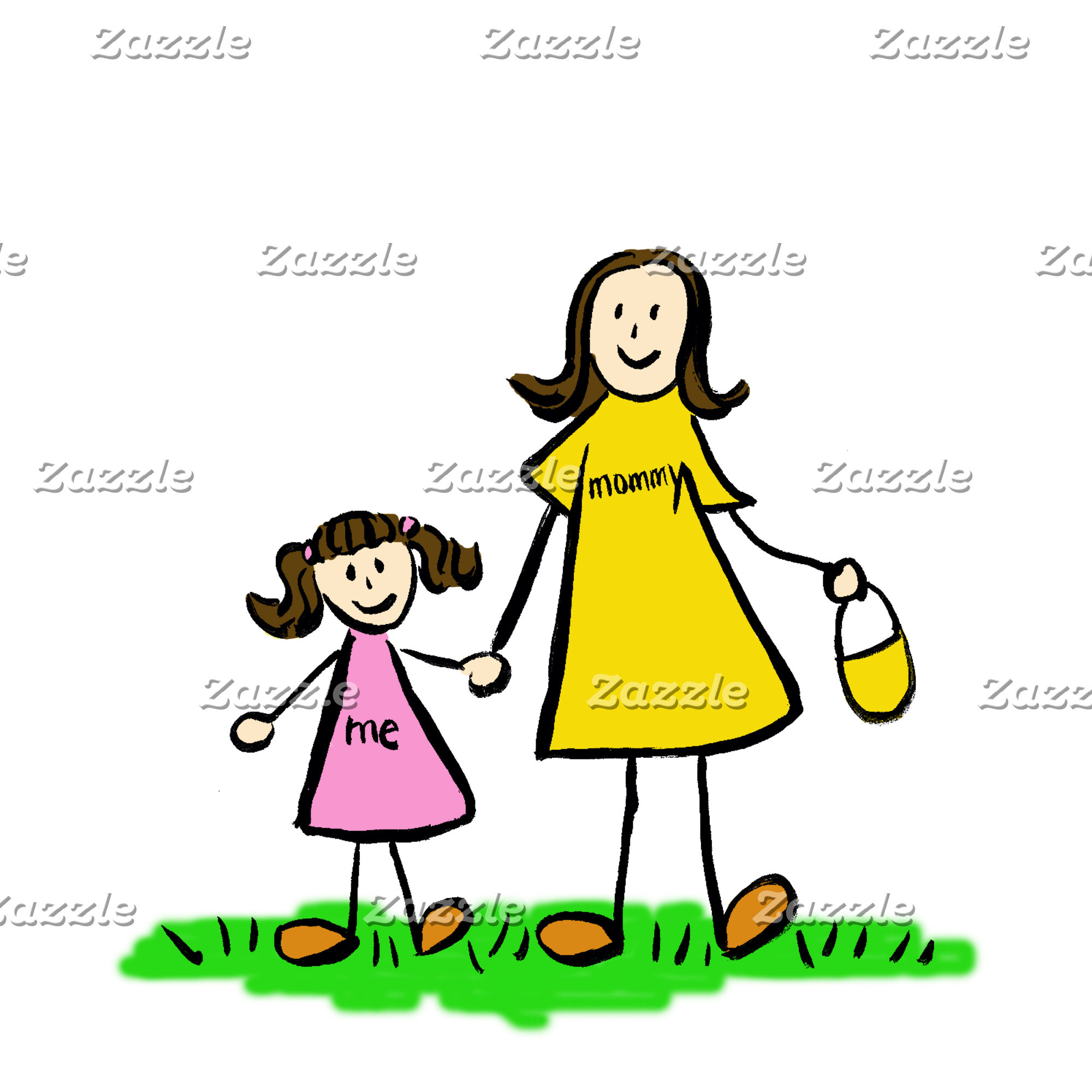 Family Characters - Parents and Children