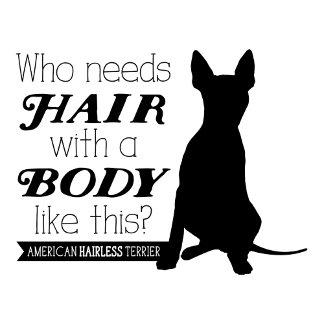 "AHT ""Who needs hair?"""