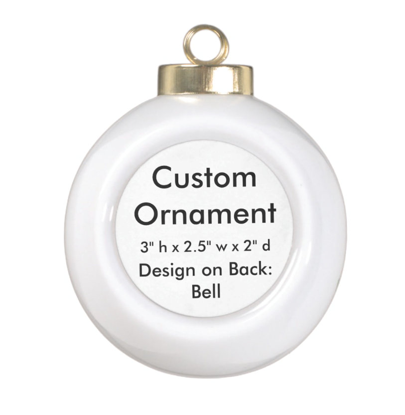 Custom Ceramic Ball Hanging Ornaments