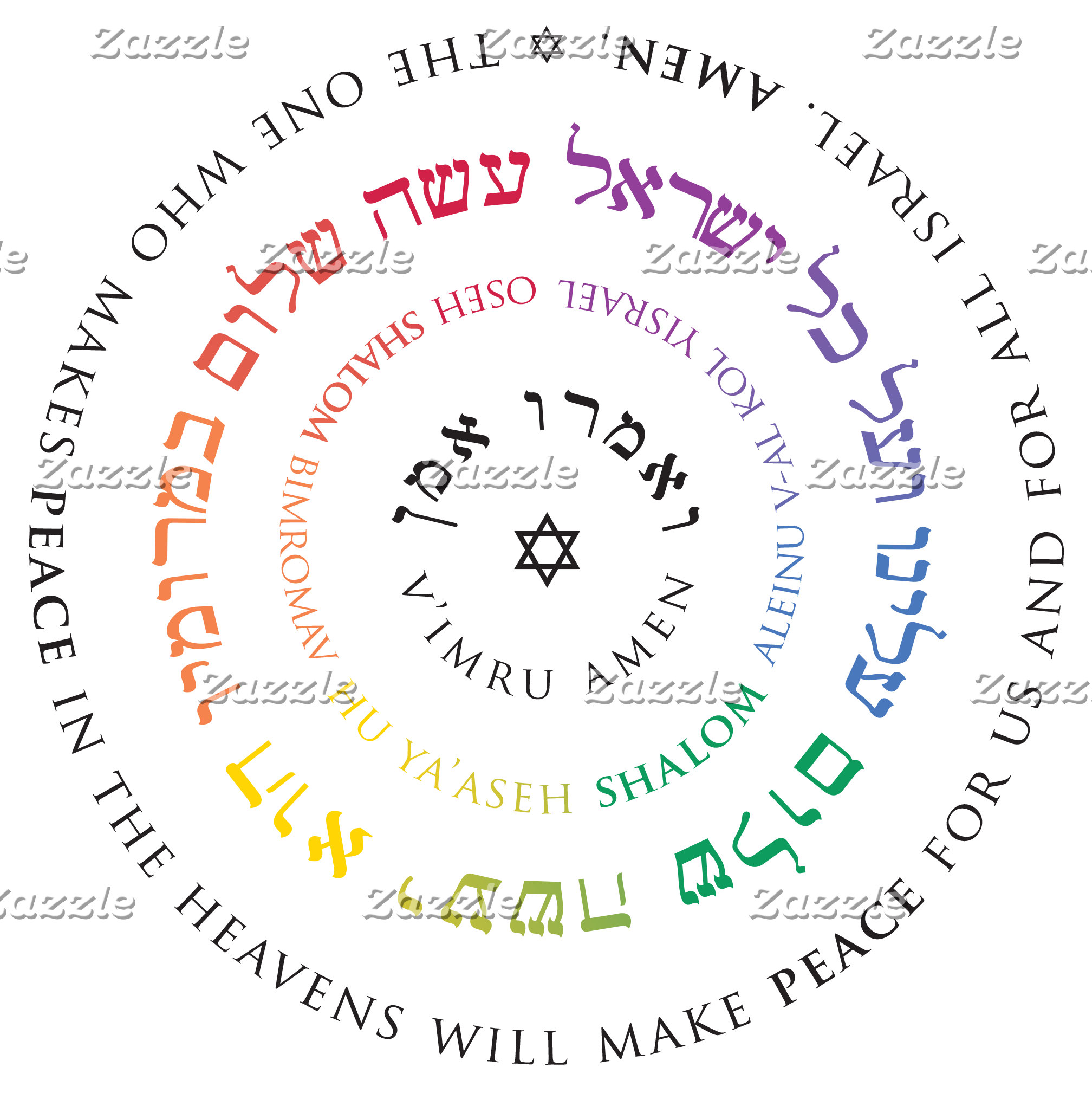 Hebrew Prayer Texts