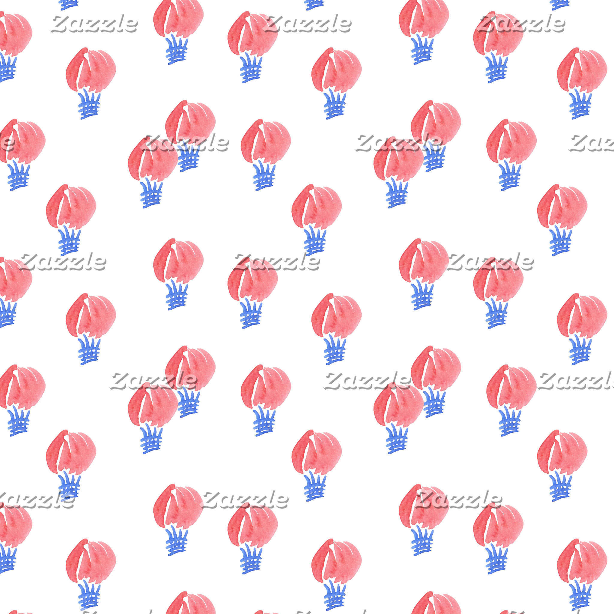 Air Balloons Pattern