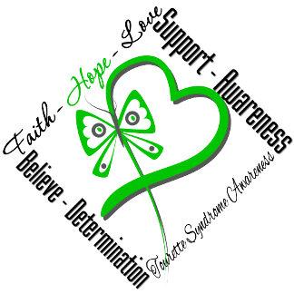 Faith Hope Love Butterfly - Tourette Syndrome