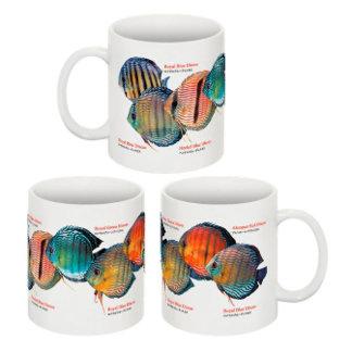 熱帯魚のマグカップ