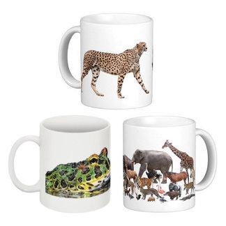生物のマグカップ