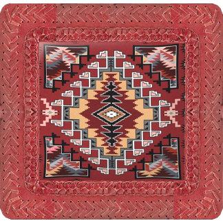 Tribal, Ethnic-Leather-Print