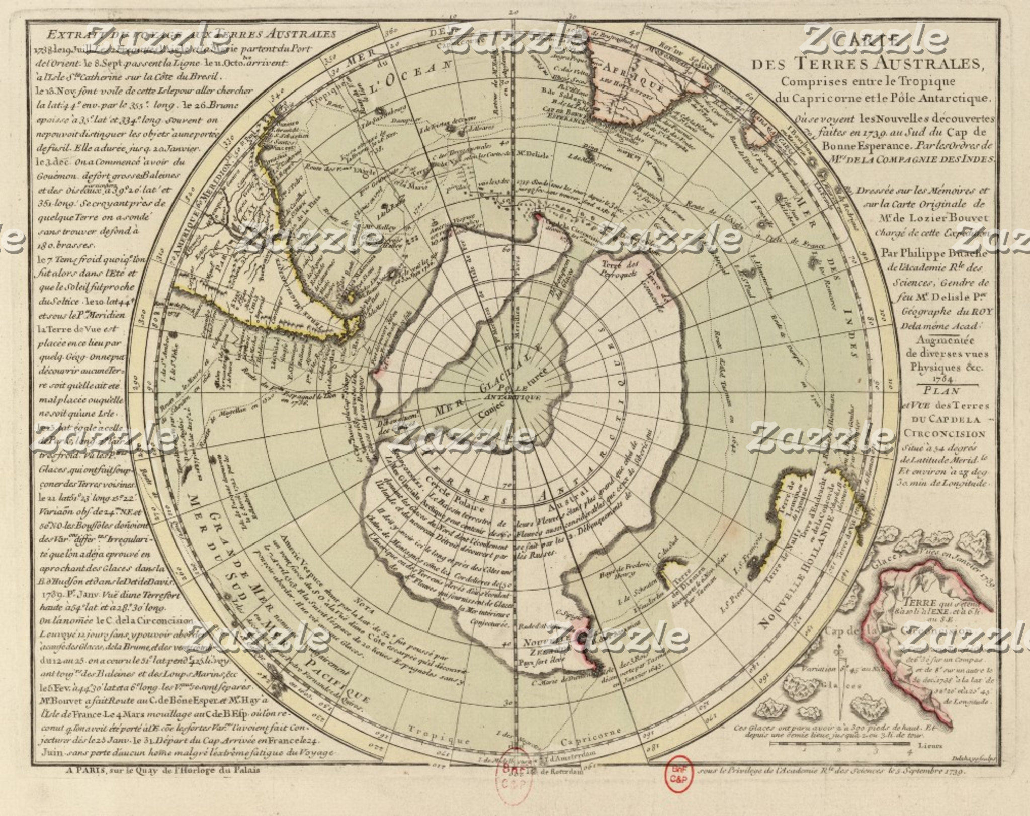 Vintage Polar Region Maps