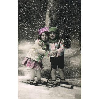 Children on Skis