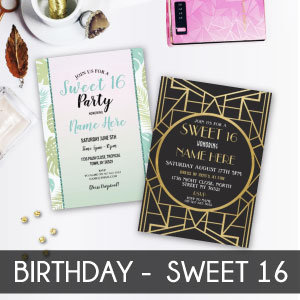 Birthday - Sweet 16