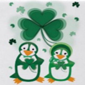 St. Patrick's Day Penguins