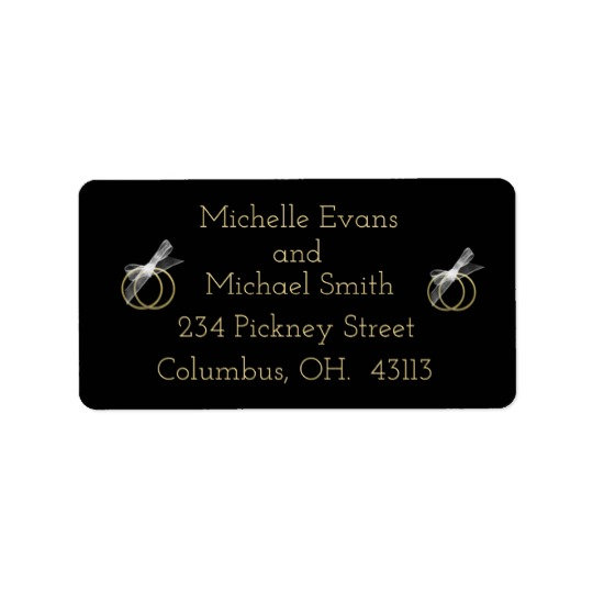 Address Labels/Return