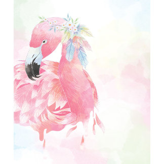 Pink Flamingo Wedding Set