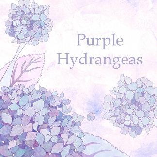 ♥ Purple Hydrangeas