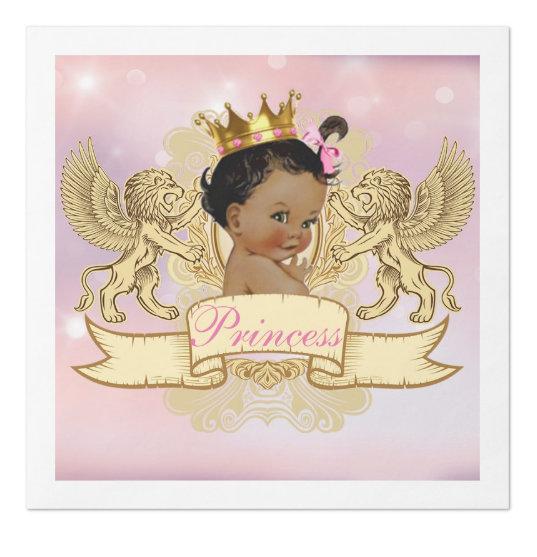 Royal African Princess Baby Shower
